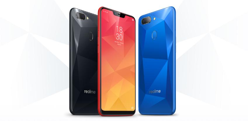 realme 2 colour choices