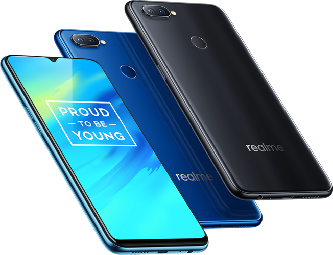 Realme 2 Pro colour choices