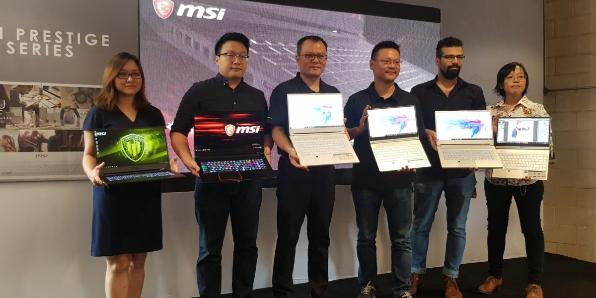 MSI launches P65 Creator PC, PS42 Modern, WS65 Workstation