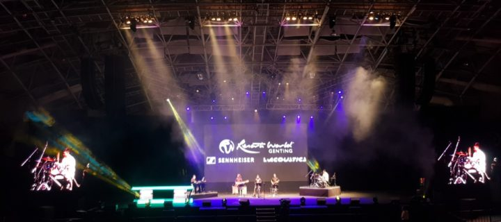 L-Acoustics K2 sound system brings the music to Genting Arena of Stars