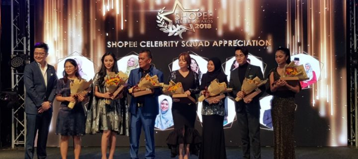 Shopee Seller Awards 2018 fetes their finest sellers in grand awards bash