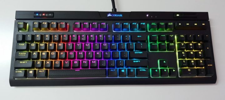 [Review] Corsair Strafe RGB Mk2 Gaming Keyboard – Silent Running