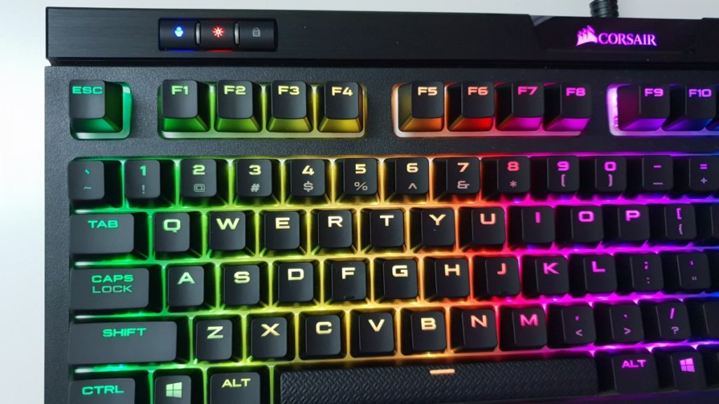 Review] Corsair Strafe RGB Mk2 Gaming Keyboard - Silent