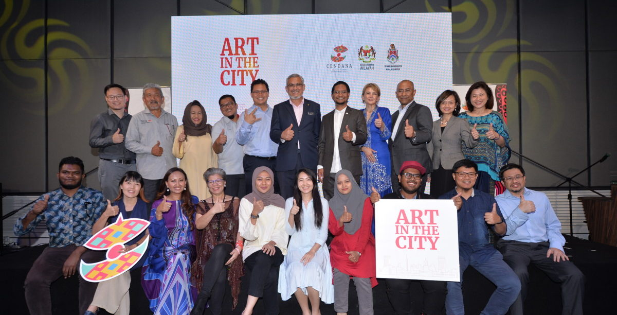 Art in the City project brings Malaysian arts outdoors to