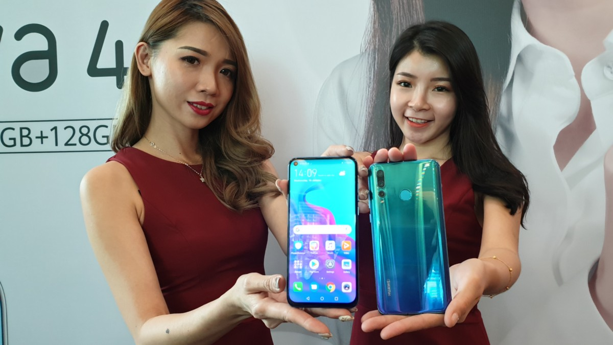 Huawei releases nova 4 the first Punch Fullview display phone in Malaysia at RM1899