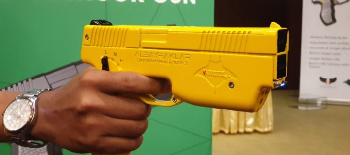 The Wattozz wireless electroshock gun now available in Malaysia