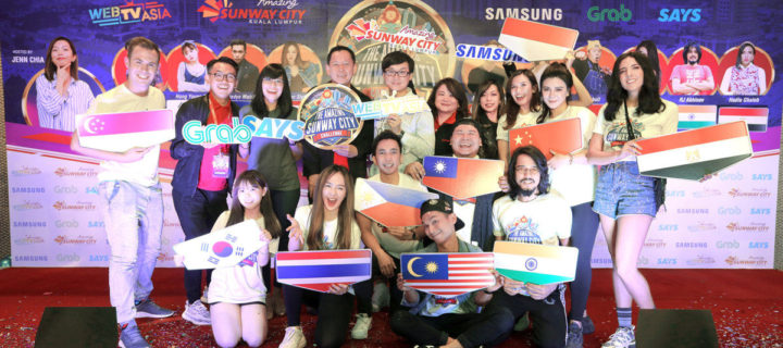 Samsung teams up with Sunway for Amazing Sunway CIty Challenge reality game show