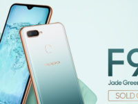OPPO F9 Jade Green Edition completely sold out