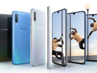 Galaxy A70 with Infinity-U display and rear triple camera revealed