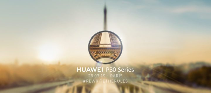The upcoming Huawei P30 series arriving this 26 March teases an