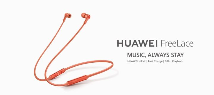 The Huawei FreeLace solve the biggest problem wireless headphones have