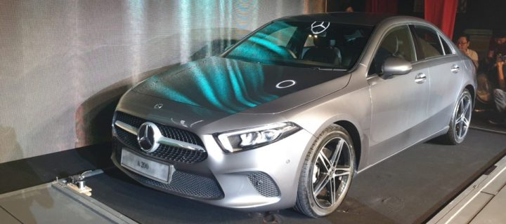 New Mercedes-Benz A-Class limousine arrives in Malaysia with MBUX infotainment system