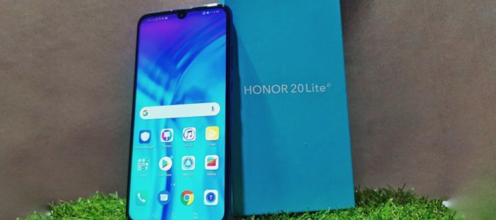 First look at the triple-camera packing HONOR 20 Lite