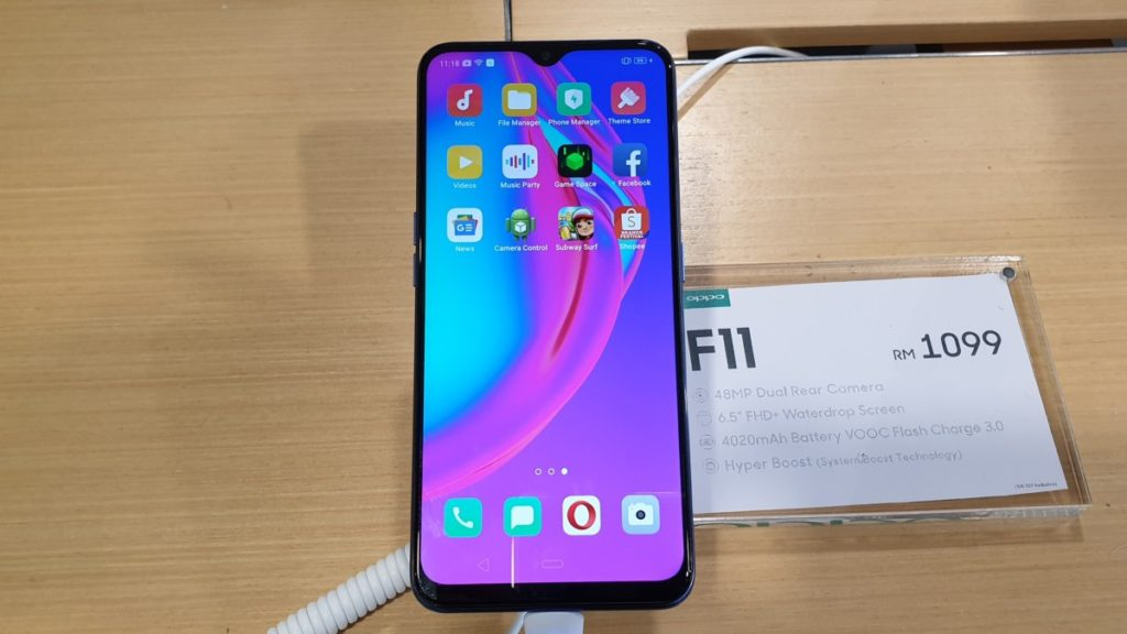 OPPO F11 debuts as a Shopee exclusive for RM1,099 |