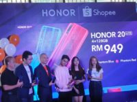 HONOR 20 Lite triple camphone arriving on Shopee at RM949