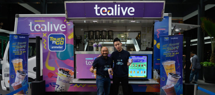 Touch 'N GO eWallet teams up with Tealive for promos and discounts aplenty