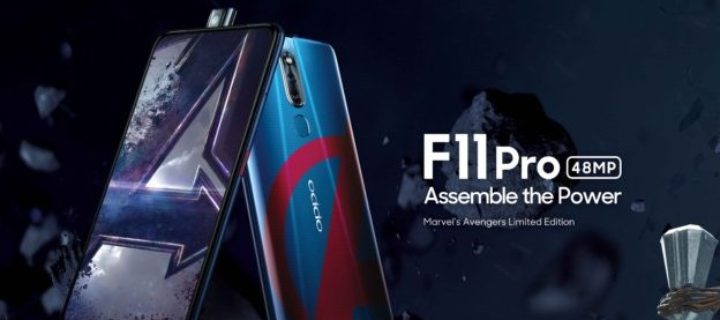 Avengers Assemble with the Marvel's Avengers Limited Edition OPPO F11 Pro