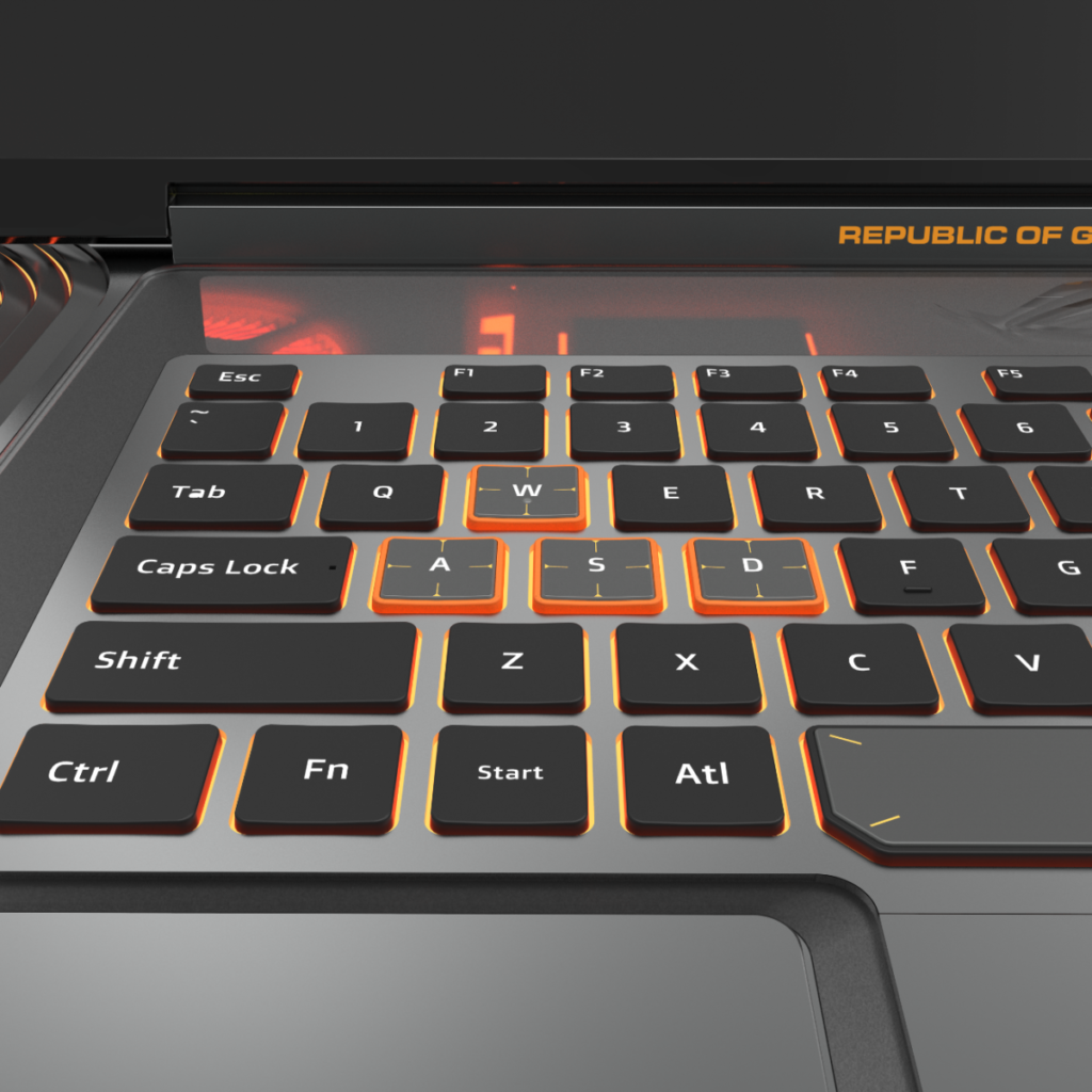 ROG Face Off keyboard