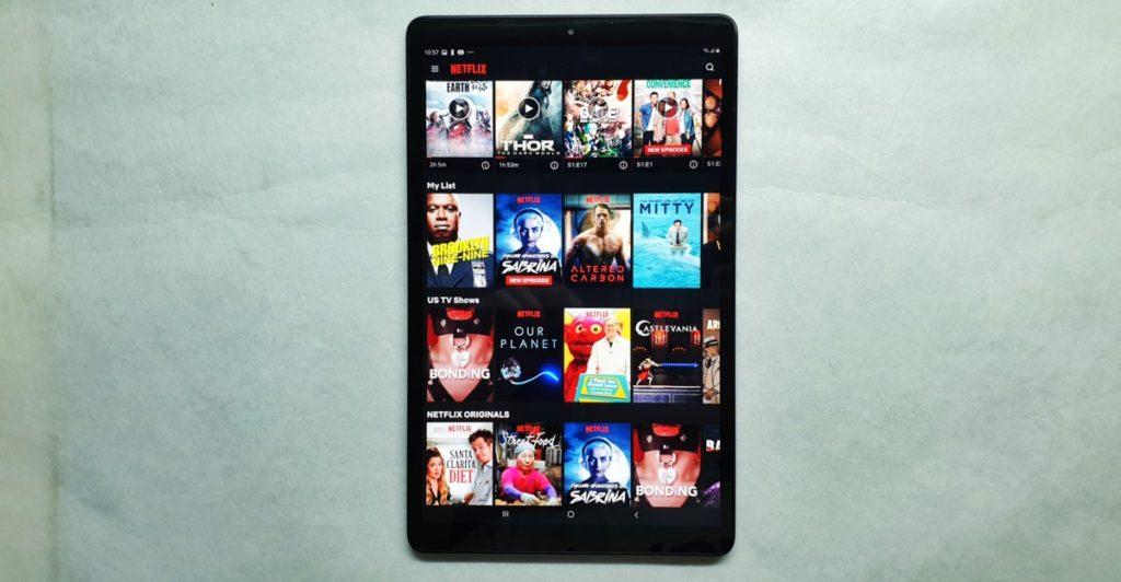 Galaxy Tab A 10.1 2019 front