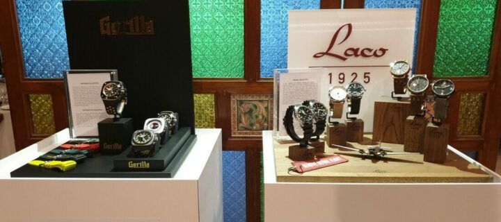 Red Army Watches reveals latest Laco and Gorilla collection timepieces in Malaysia