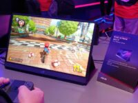 Asus ROG Strix XG17 240Hz portable gaming monitor showcased at Computex 2019