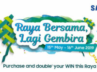 Samsung Raya Bersama Lagi Gembira campaign has up to RM332,400 in prizes up for grabs!