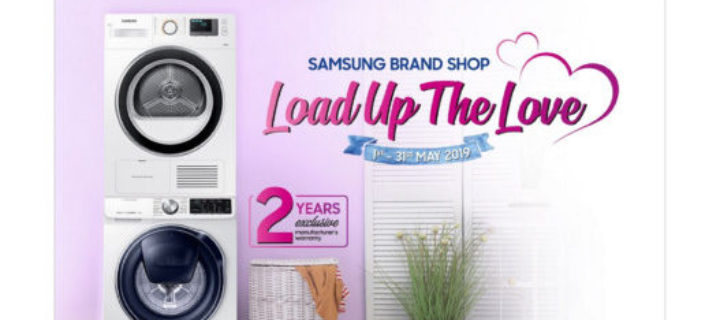 Samsung wants you to Load Up The Love with washing machine promos aplenty