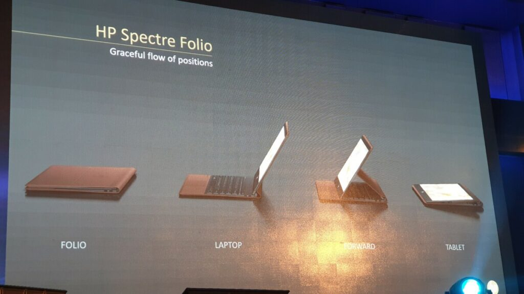Spectre Folio 13 modes