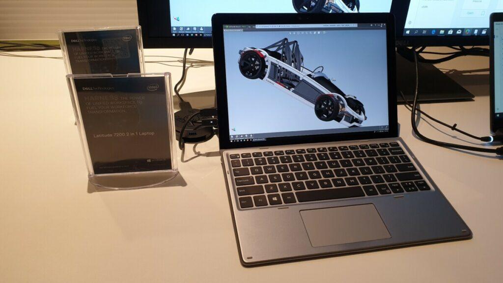 Dell Latitude 7200 laptop