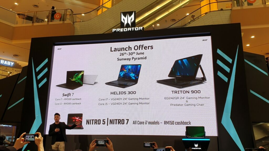 Acer promotions