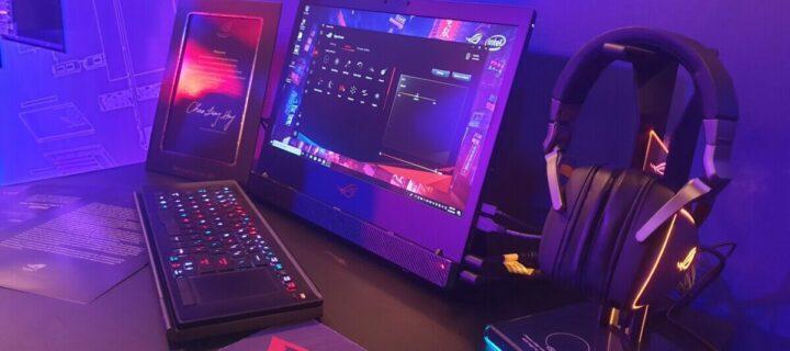 ROG Mothership gaming rig redefines portable gaming