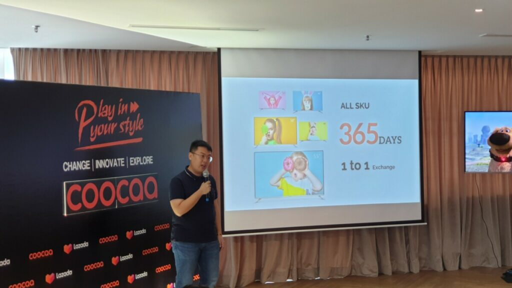 coocaa 55-inch 55Q5 4K Smart TV launches as a Lazada exclusive for