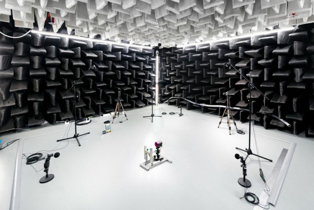 Dyson acoustic lab Singapore Technology Centre STC
