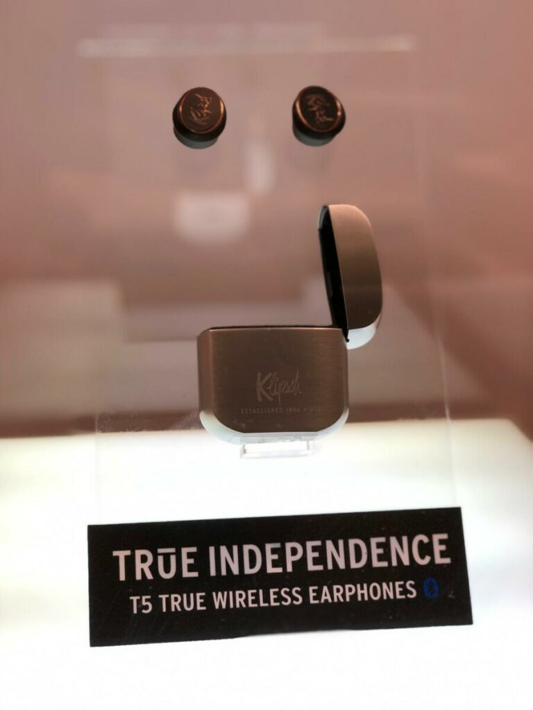 T5 True Wireless at orchard