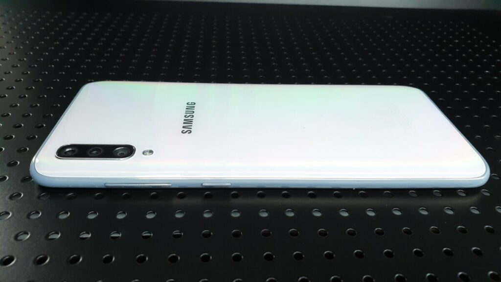 Galaxy A70 left side
