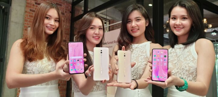 OPPO Reno now comes in a shade of Sunset Rose