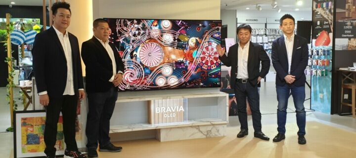 Sony launches their luscious Master series Class A9G 4K HDR OLED TVs