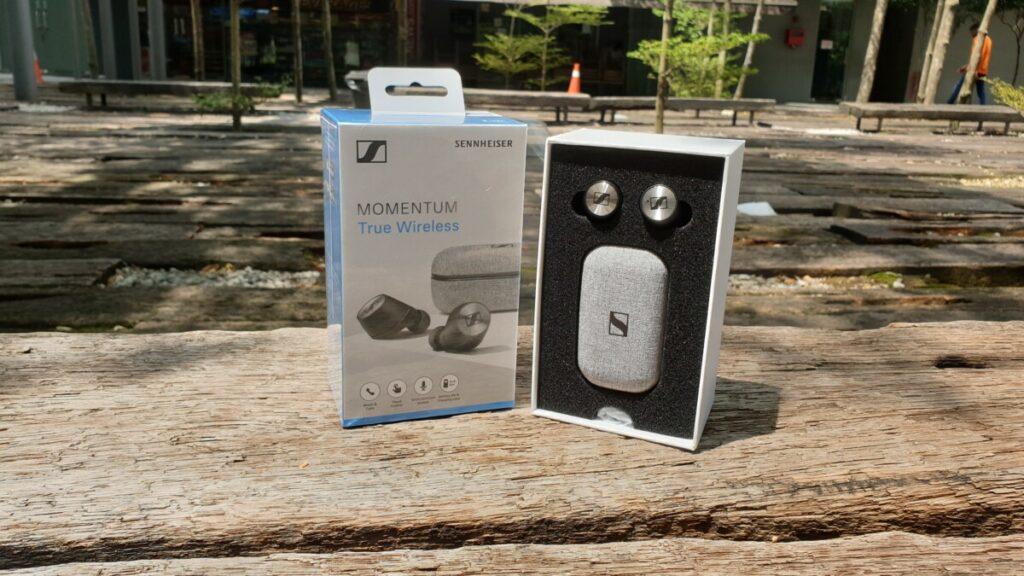 Sennheiser Momentum True Wireless box