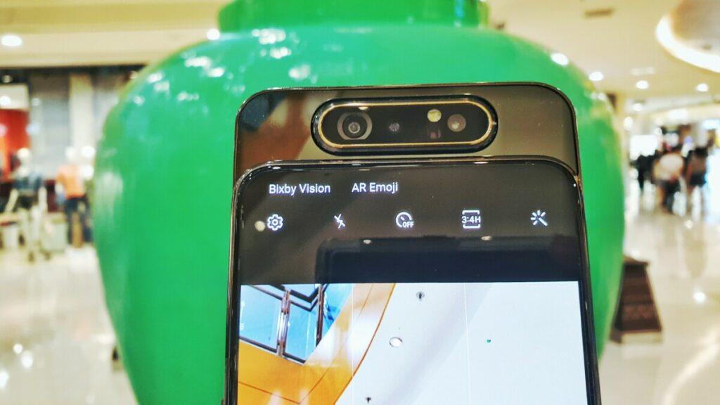 Galaxy A80 front camera