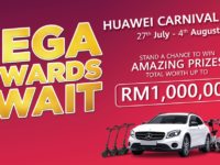 Huawei Carnival 2019 offers new prices on phones and a slick Mercedes Benz up for grabs