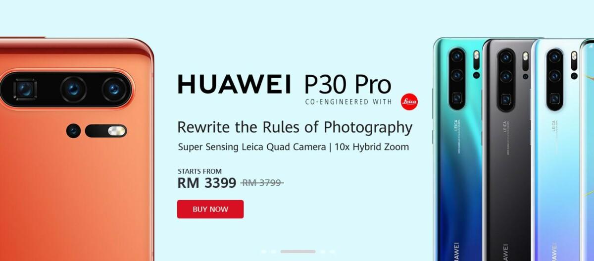 Huawei No Worries P30 Pro
