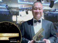MyBiz wins at World Procurement Awards 2019