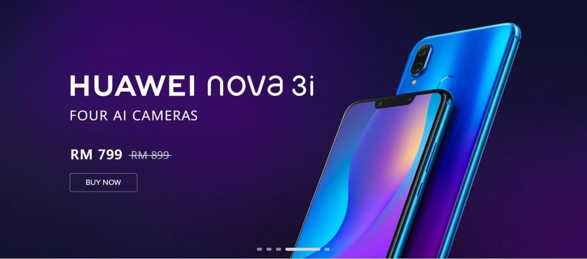 Huawei No Worries Nova 3i