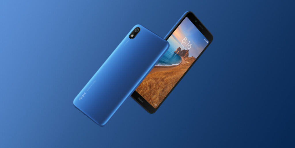Redmi 7A blue
