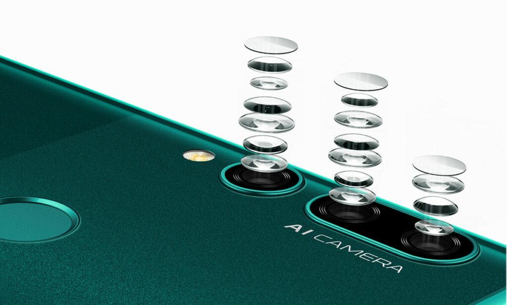Huawei Y9 Prime cameras