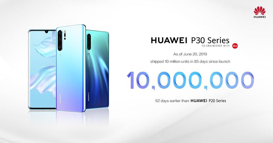 P30 sales exceed