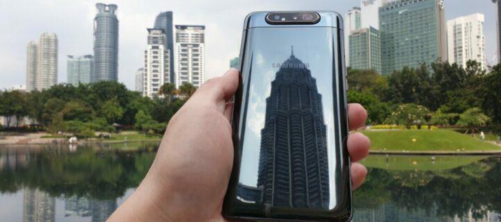 Samsung Galaxy A80 review – Sensationally slick triple camera shooter