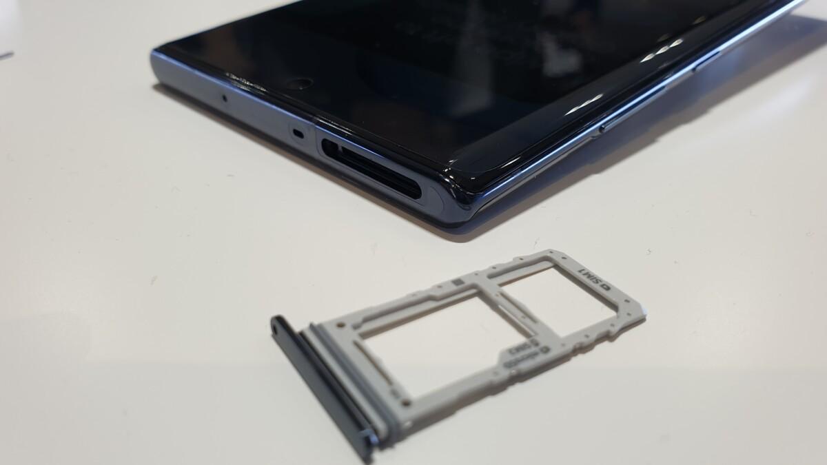 Galaxy Note 10+ hybrid SIM