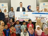 HP Little Makers Challenge won by SK Saujana Utama