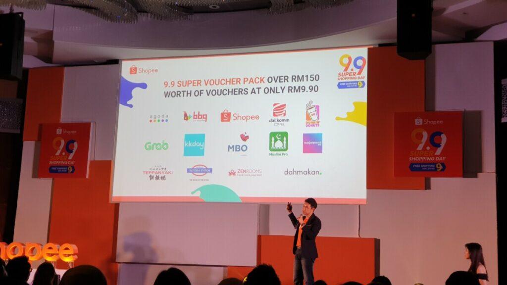 Shopee 9.9 super shopping day brands